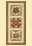 Rosette Tapestry I Art