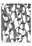 Penguin Family II Prints by Charles Swinford