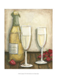 Champagne Poster by Megan Meagher