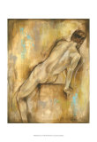 Nude Gesture I Poster by Jennifer Goldberger