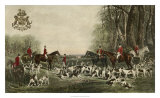 The Meet at Blagdon Giclee Print by John Snow