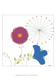 Playful Blooms IV Prints by Erica J. Vess