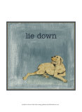 Lie Down Posters by Alicia Ludwig