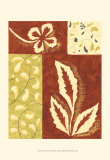 Festive Floral I Prints by Virginia A. Roper