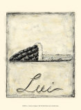 Lui: French Cozy Slipper Art by Chariklia Zarris