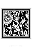 Graphic Floral Motif IV Print