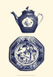 Manor Porcelain in Blue I Prints