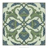 Mediterranean Tile II Art by  Racinet