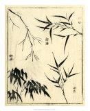 Bamboo Woodblock I Giclee Print