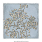 Silver Filigree VI Print by Megan Meagher