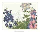 Japanese Flower Garden III Giclee Print by Konan Tanigami