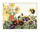 Japanese Flower Garden V Prints by Konan Tanigami