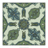 Mediterranean Tile I Giclee Print by  Racinet