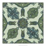 Mediterranean Tile I Giclee Print by  Racinet