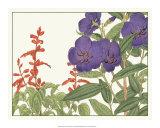 Japanese Flower Garden VI Giclee Print by Konan Tanigami