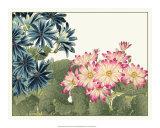 Japanese Flower Garden IV Giclee Print by Konan Tanigami