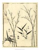 Bamboo Woodblock II Giclee Print