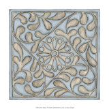 Silver Filigree VII Prints by Megan Meagher