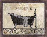 Bath Silhouette II - Art Print