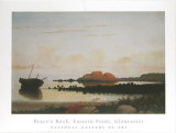 Brace's Rock, Gloucester Prints by Fitz Hugh Lane