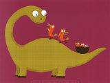 Joli Dino Poster von Nathalie Choux