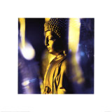 Blue Buddha Posters