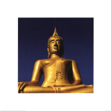 Golden Buddha Prints