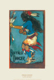 Buffalo Dancer Poster by Gerald Cassidy