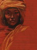 Bibi Russel, Artiste de l'Unesco Paix Posters by Titouan Lamazou