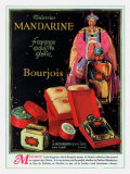 Mandarin Bourjois Toiletries Posters