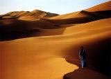 Merzouga , Sahara , Maroc Posters by John Beatty