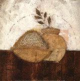Bol de Riz et Feuillage Affiches par Lucie Granetier