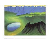 Mountains and Lake Reprodukcje autor Georgia O'Keeffe
