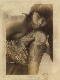 Nadia, Indienne Camaiura Print by Titouan Lamazou
