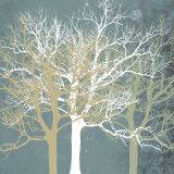 Tranquil Trees Kunstdrucke von Erin Clark