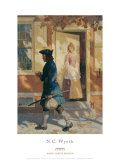 Franklin's Arrival Posters af Newell Convers Wyeth