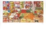 El Mercado Print by Hal Marcus