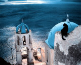 Chat en Grece Art by Hans Silvester