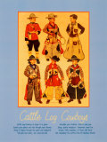 Cattle Log Cowboys Posters