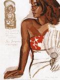 Heiata Egerie de la Perle de Tahiti Posters by Titouan Lamazou