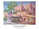 The Pink Adobe Prints by Doug Magnus