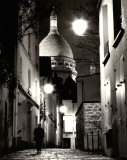 Montmartre Nocturne Prints by Bruno De Hogues