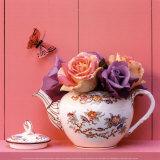 Theiere de Roses Kunstdrucke von  Gaillard