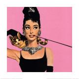 Audrey Hepburn dans Diamants sur canapé Posters