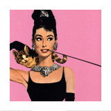 Audrey Hepburn en Desayuno con diamantes Láminas