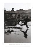 Henri Cartier-Bresson - Derriere la Gare Saint-Lazare, Paris Plakát