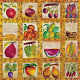 Fruit Collection Posters by Norman Laliberte