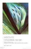 Blue Green Music Reprodukcje autor Georgia O'Keeffe
