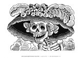 Calivera Catrina Affiches par Jose Guadalupe Posada