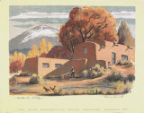 Santa Fe Baldy Prints by Louie Ewing